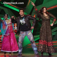 Salman Khan and Daisy Shah on Nach Baliye 6