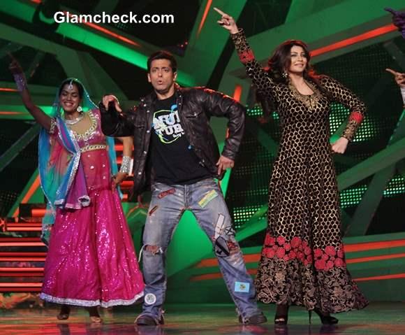 Salman Khan and Daisy Shah on Nach Baliye 6