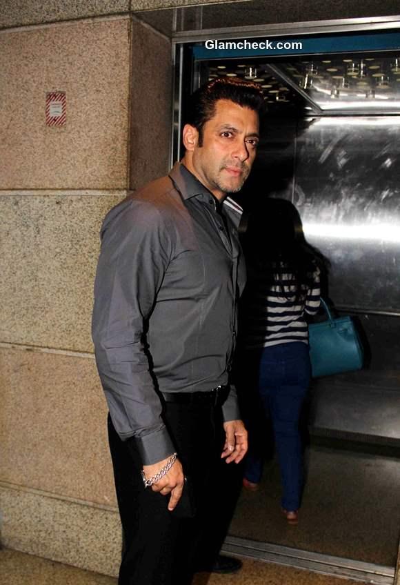 Salman Khan at Jai Ho Special Screening