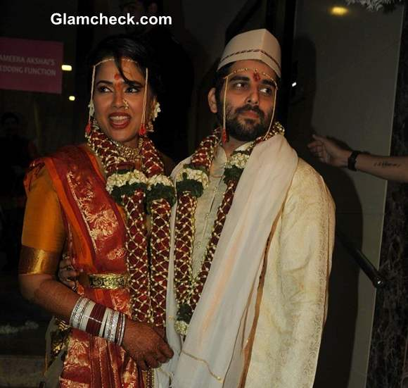 Sameera Reddy Marriage Pictures