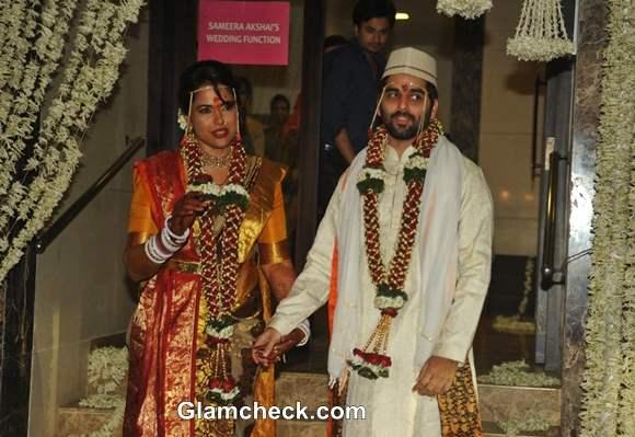 Sameera Reddy Married