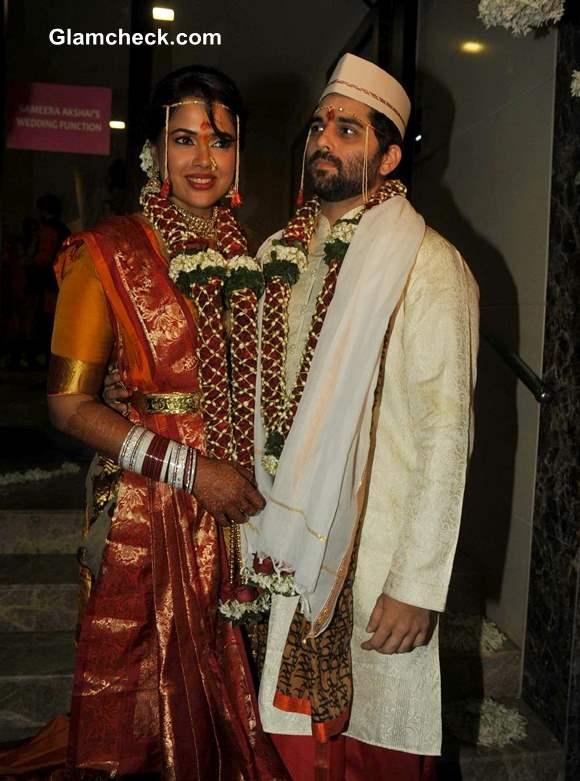 Sameera Reddy Marries Akshai Varde Pictures