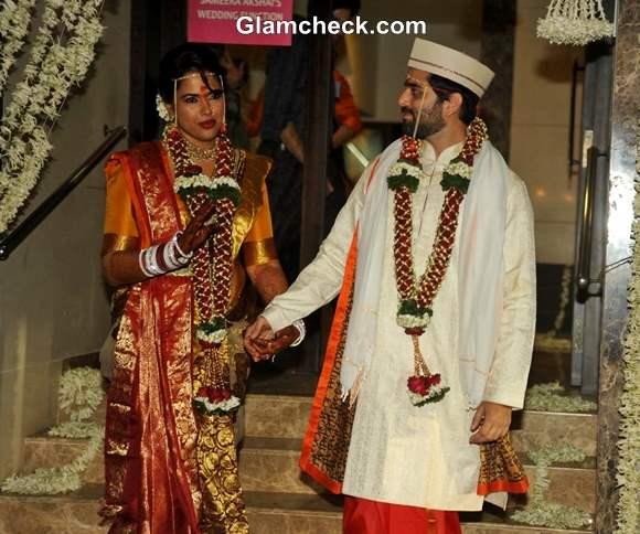 Sameera Reddy and Akshai Varde Get Married