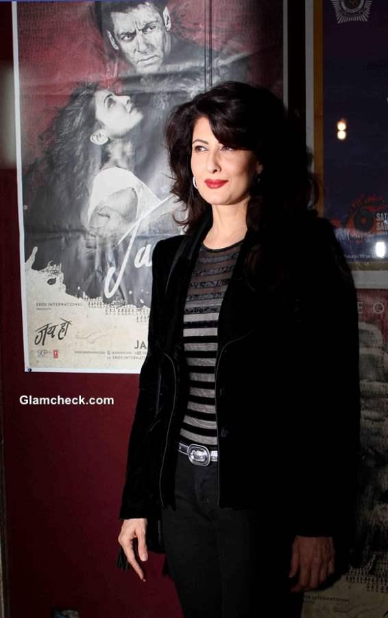 Sangeeta Bijlani at Jai Ho Special Screening