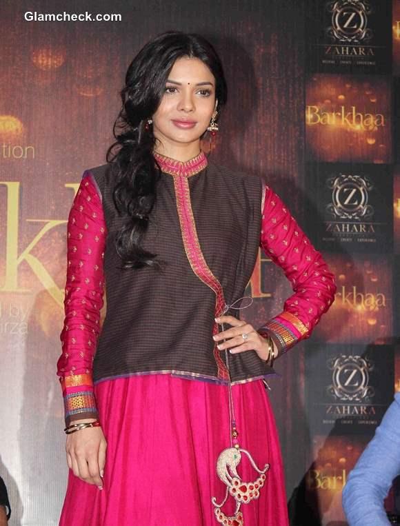 Sara Loren at Barkhaa Launch in Mumbai