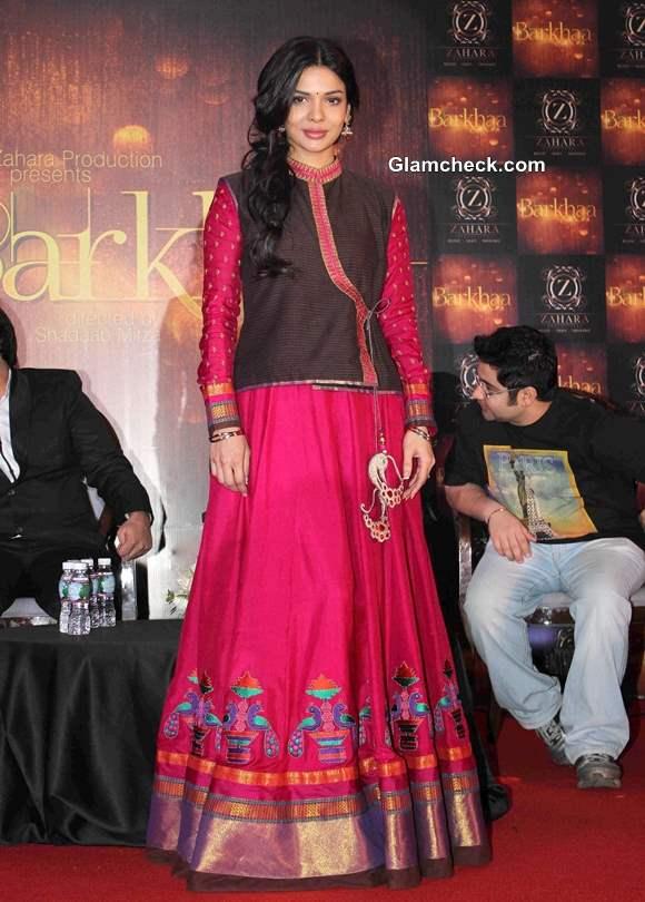 Sara Loren2014 Barkhaa Launch in Mumbai