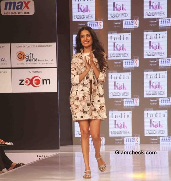 Sarah Jane Dias at India Kids Fashion Week 2014