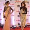 Sari Style Poll - Amrita Rao vs Dia Mirza at the Idea Filmfare Awards 2014