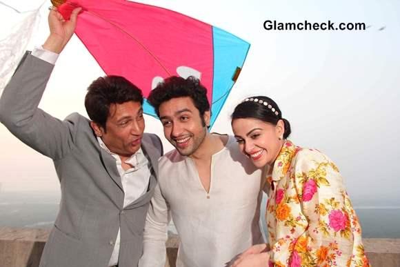 Shekhar Suman Adhyayan Suman and Ariana Ayam celebrate Makar Sankranti