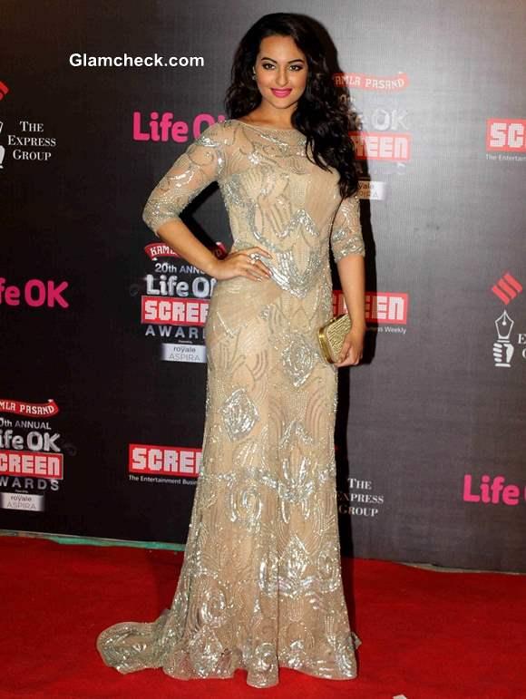Sonakshi Sinha 2014 Annual Life OK Screen Awards