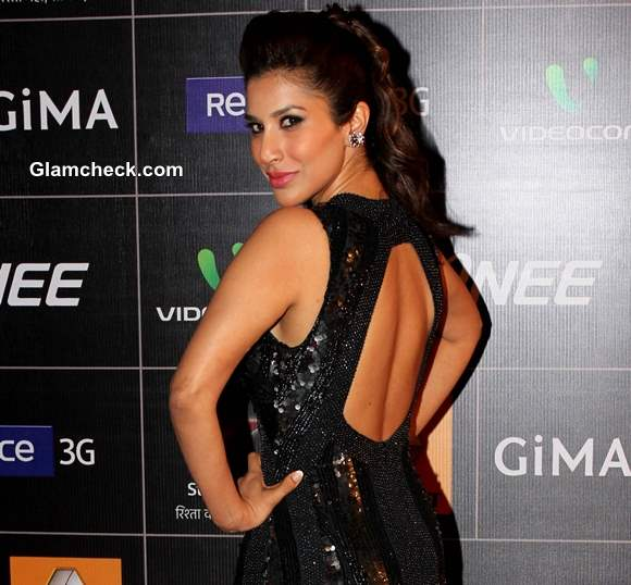 Sophie Choudry at the Global Indian Music Academy Awards 2014