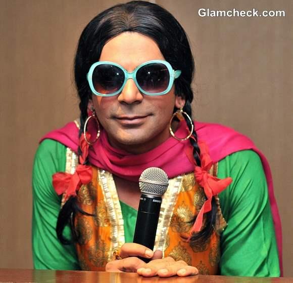 Sunil Grover as Chutki in Mad In India