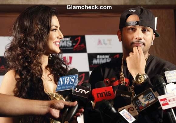 Sunny Leone and Honey Singh Shoot Chaar Bottle Vodka Ragini MMS 2