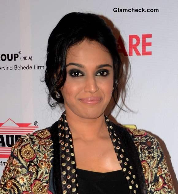 Swara Bhaskar Hair and Makeup at the 59th Idea Filmfare Pre-awards Party