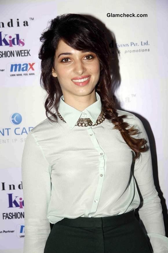 Tamanna Bhatia at India Kids Fashion Week - Day 2