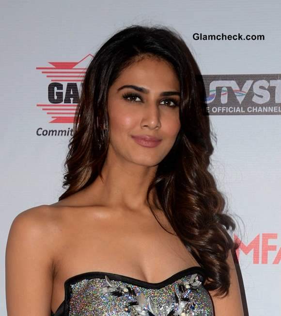 Vaani Kapoor Hair and Makeup at the 59th Idea Filmfare Pre-awards Party