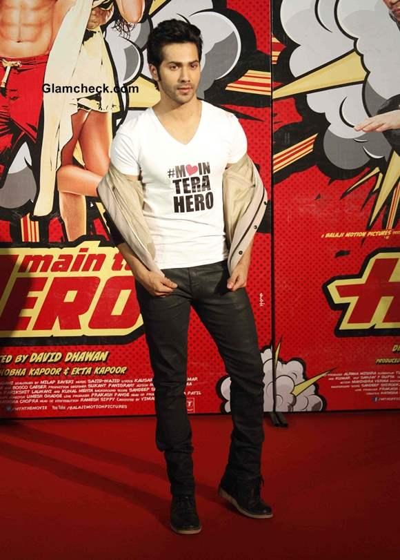 Varun Dhawan at Main Tera Hero Trailer Launch
