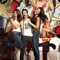 Varun Ileana Nargis at Main Tera Hero Trailer Launch