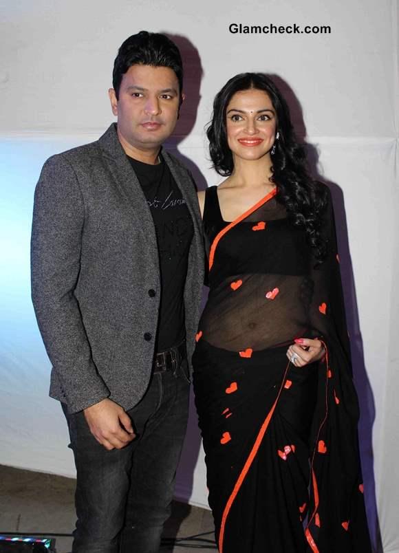 filmmaker Bhushan Kumar with his wife Divya Khosla Kumar
