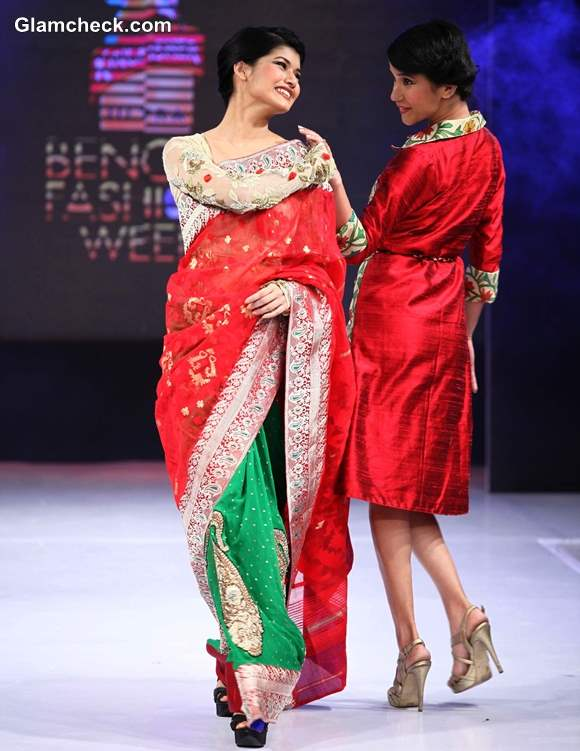 Agnimitra Paul Kingfisher Ultra Bengal Fashion Week 2014