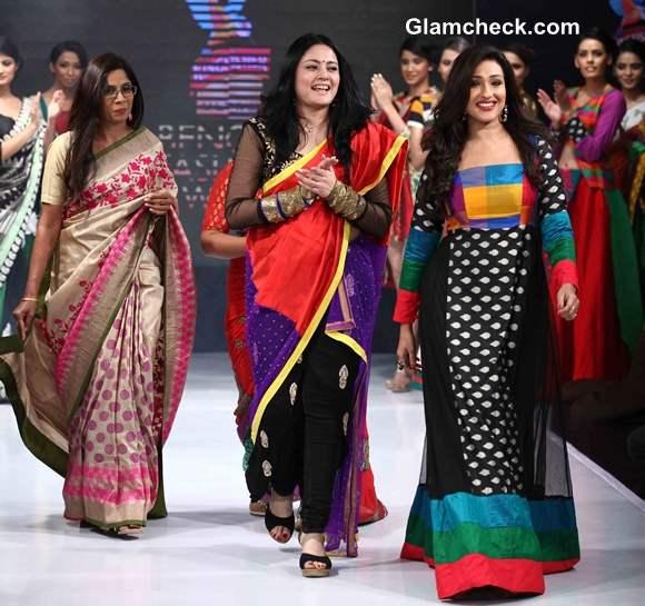 Agnimitra Paul Woman of Substance at Kingfisher Ultra Bengal Fashion Week 2014