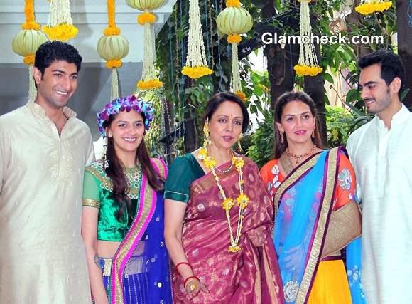 Ahana Deol Vaibhav Arora Mehendi Ceremony Pictures
