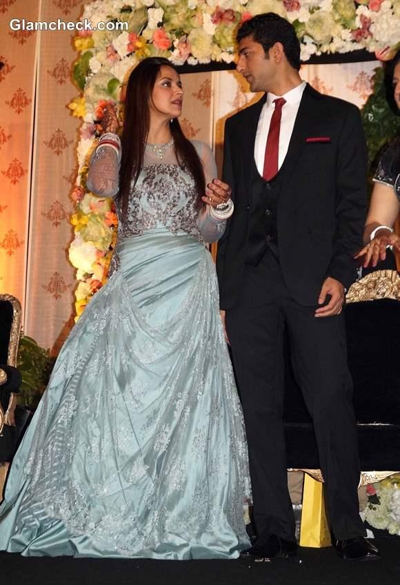 Ahana Deol-Vaibhav Arora Wedding Reception in Delhi