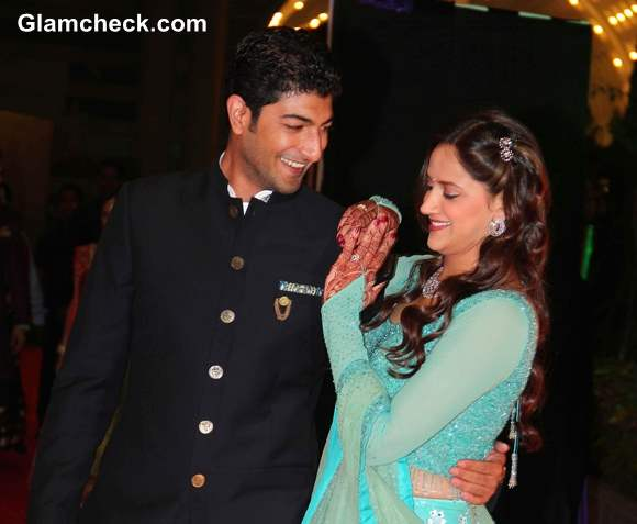 Ahana Deol Vaibhav Vohra During the Sangeet Ceremony - Pictures