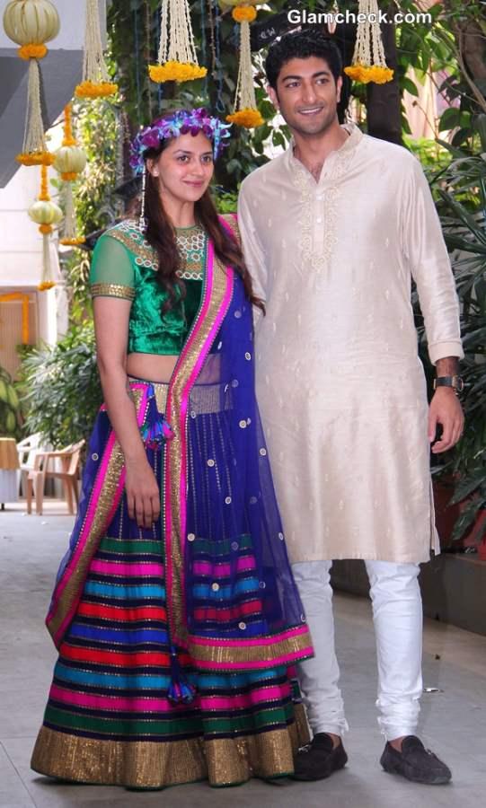 Ahana Deol and Vaibhav Arora Mehendi Ceremony