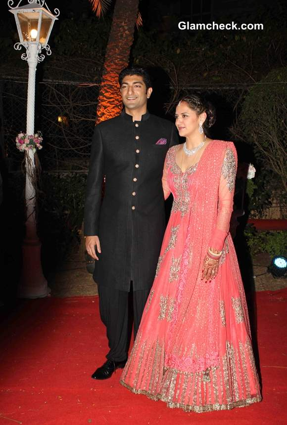 Ahana Deol and Vaibhav Vora Marriage Pictures