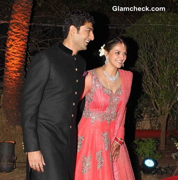 Ahana Deol and Vaibhav Vora Married