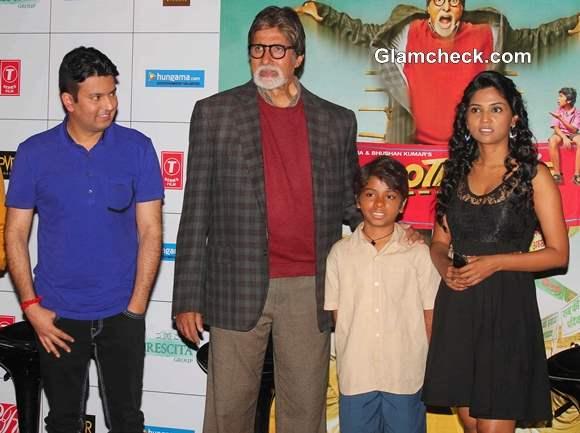 Amitabh Bachchan Unveils Theatrical Trailer of Bhootnath Returns