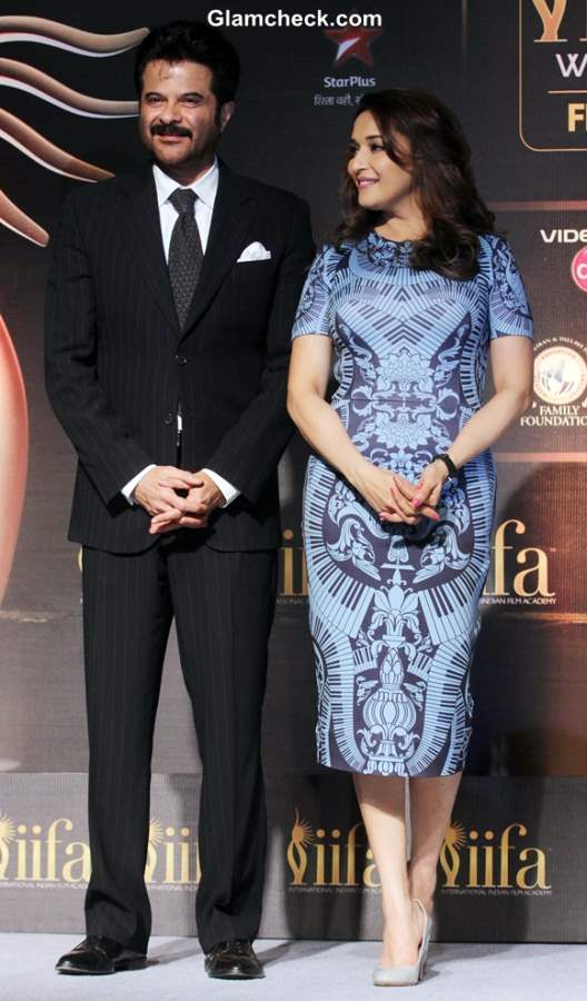 Anil Kapoor and Madhuri Dixit announce 2014 IIFA