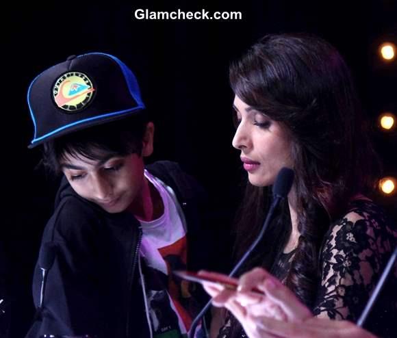 Arhaan Khan Visits Mummy Malaika Arora Khan on Indias Got Talent