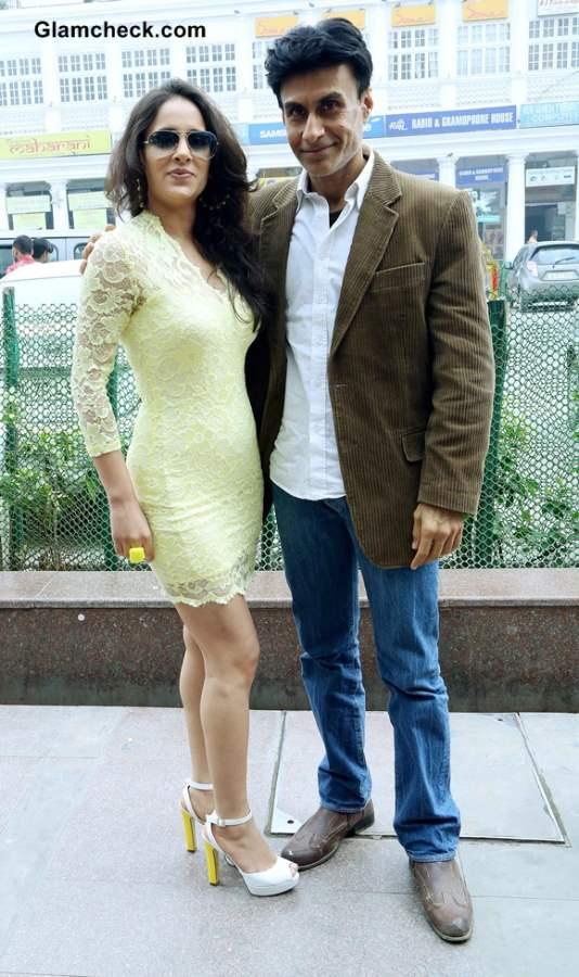 Arif Zakaria and Mahi Khanduri Promote Dee Saturday Night