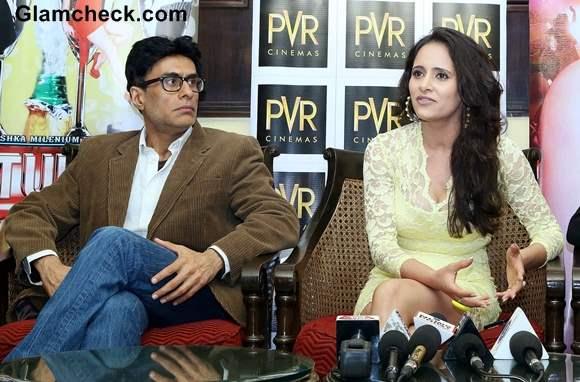 Arif Zakaria and Mahi Khanduri Promote Film Dee Saturday Night