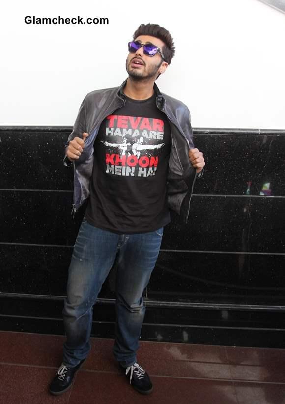 Arjun Kapoor at Wellingkar College in Mumbai