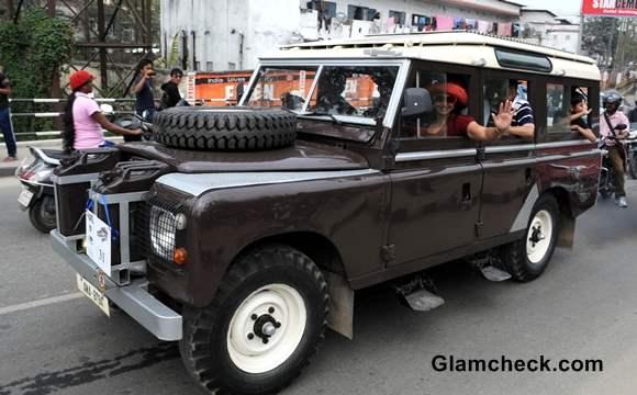 Assam Hosts Vintage Car Rally 2014