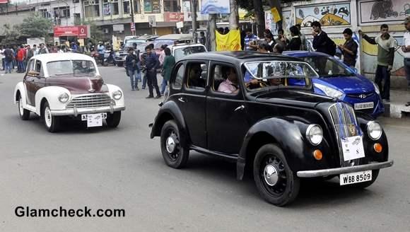 Assam Vintage Car Rally 2014 pics