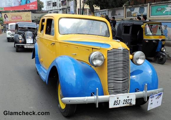 Assam Vintage Car Rally 2014 pictures