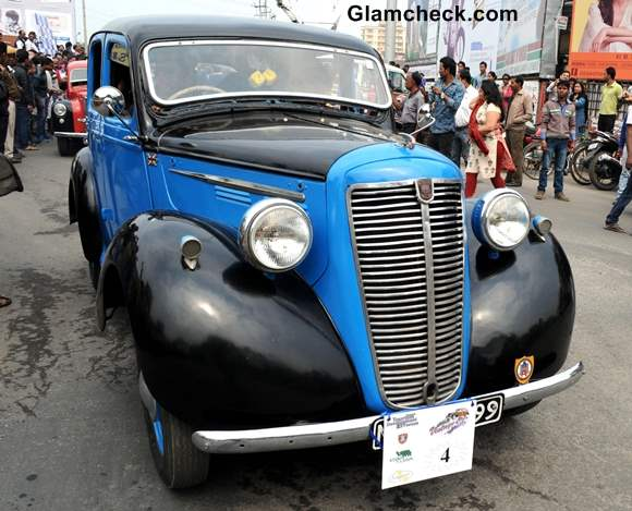 Assam Vintage Car Rally 2014