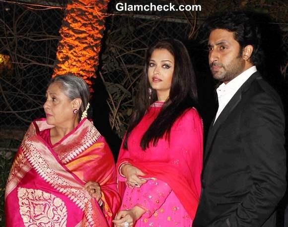 Bachchan family at Ahana Deol Vaibhav Vora Marriage