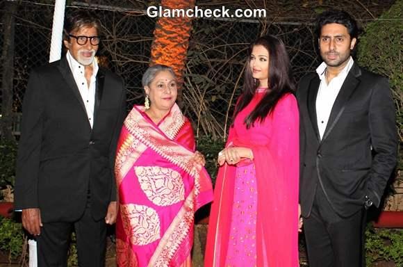 Bachchan family at Ahana Deol and Vaibhav Vora Marriage