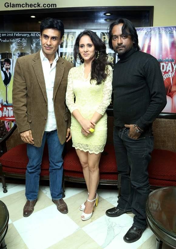 Cast of Dee Saturday Night Promote Film in New Delhi