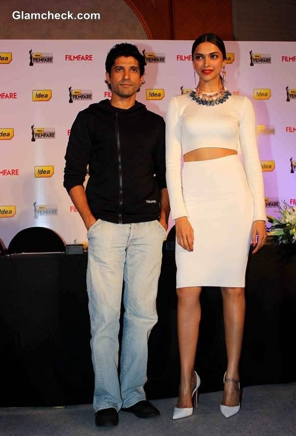 Deepika Padukone with Farhan Akhtar