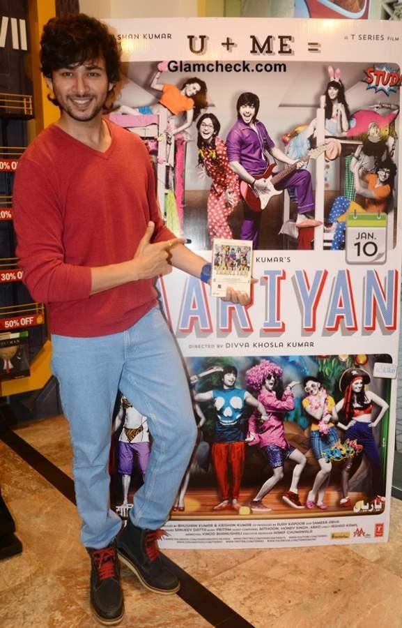 Devanshu Sharma at Yaariyan DVD Launch