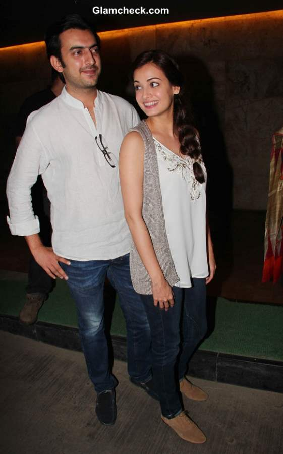 Dia Mirza 2014 Casual Look pictures