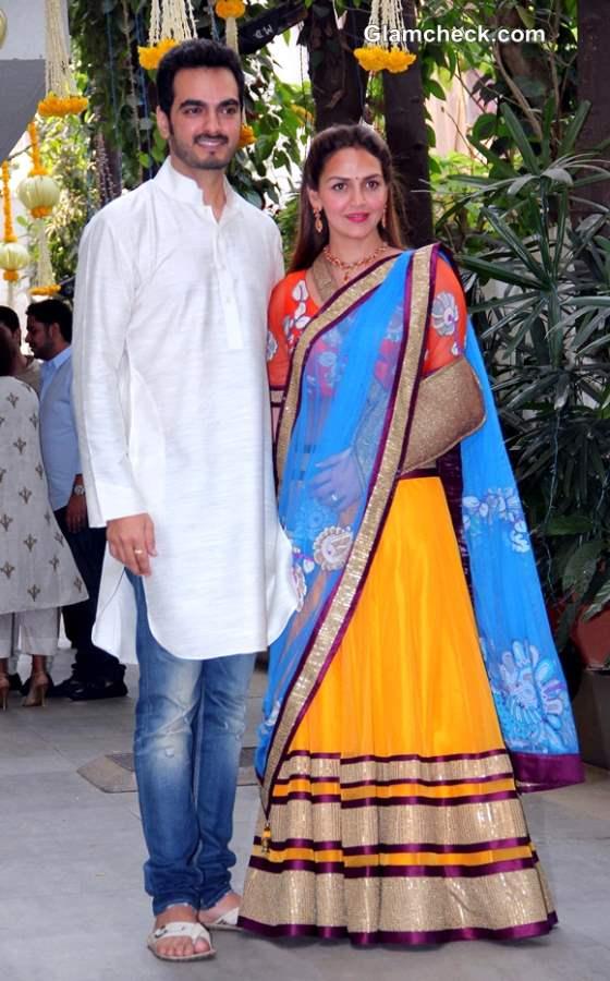 Esha Deol with Husband Bharat Takhtani 2014
