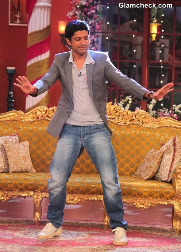 Farhan Akhtar 2014 on Comedy Nights with Kapil
