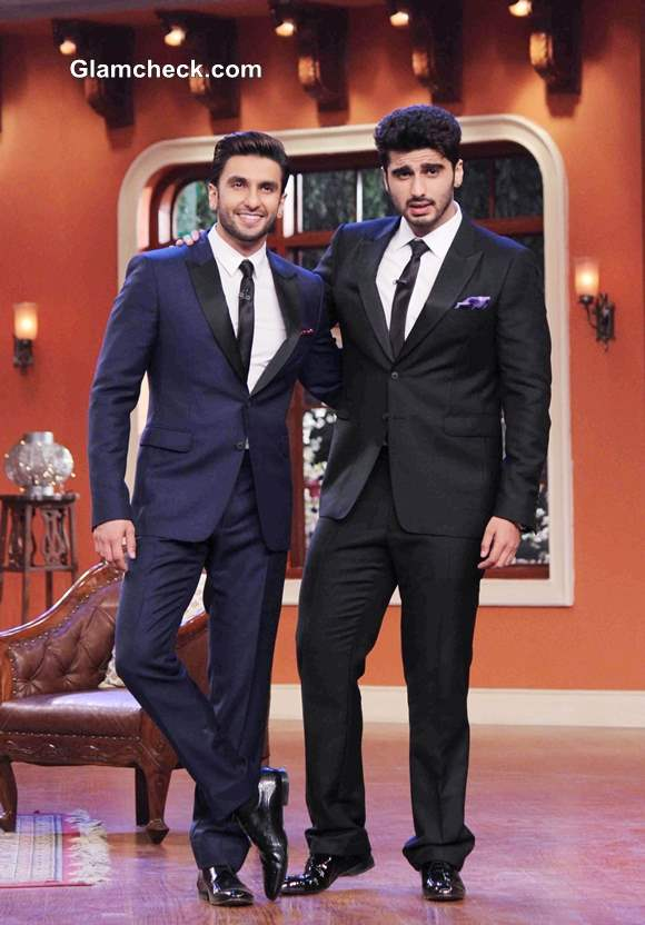Gunday Cast on Comedy Nights with Kapil